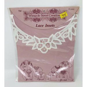 VINTAGE Lace Insets Insert Collar Wimpole